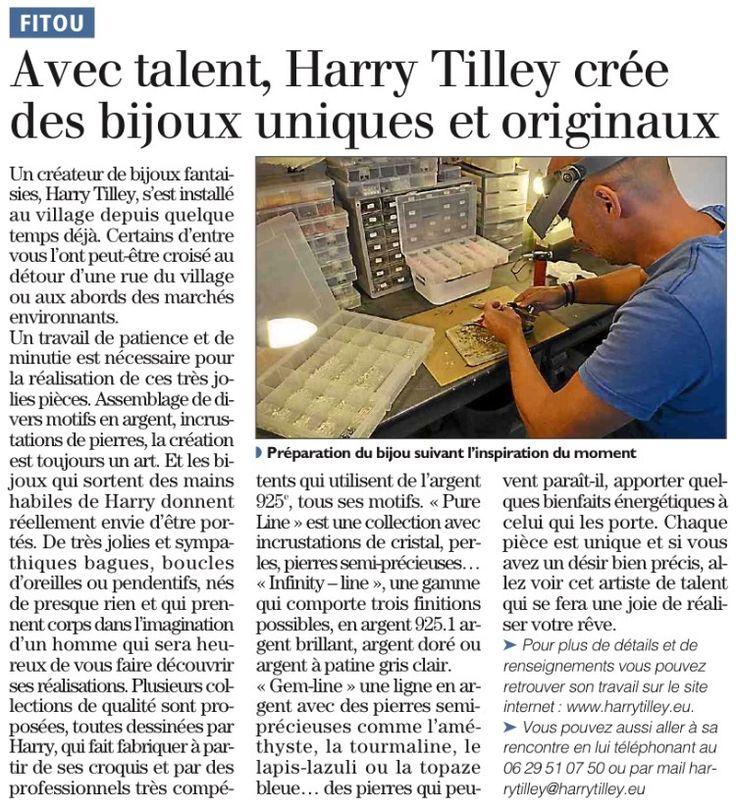 Persbericht Harry Tilley Bijoux
