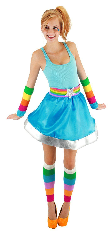 Regina Regenbogen Kostüm Kleid