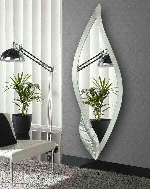 Specchi Da Arredamento Moderno.Pin Di 19gigi Bianco Su Specchi Decorazione Di Stanze Idee Per