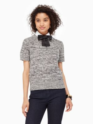 bow collared sweater - Kate Spade New York