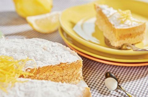 Kokostærte med citron | Kage til dig på LCHF Kuren
