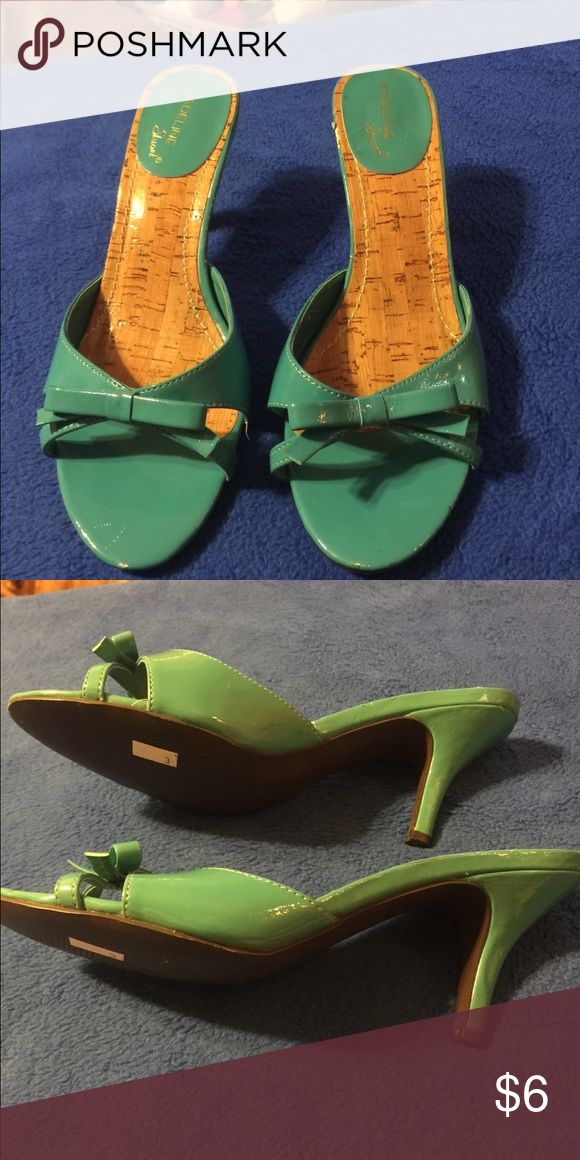 Sandals by Madeline size 8M Teal sandals size 8M in very good condition Madeline Shoes Sandals