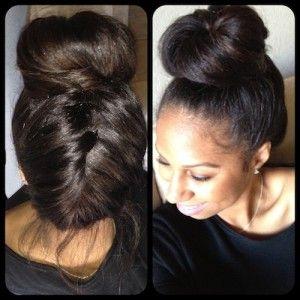 Shantae // 3C/4A Natural Hair Style Icon   Black Girl with Long Hair