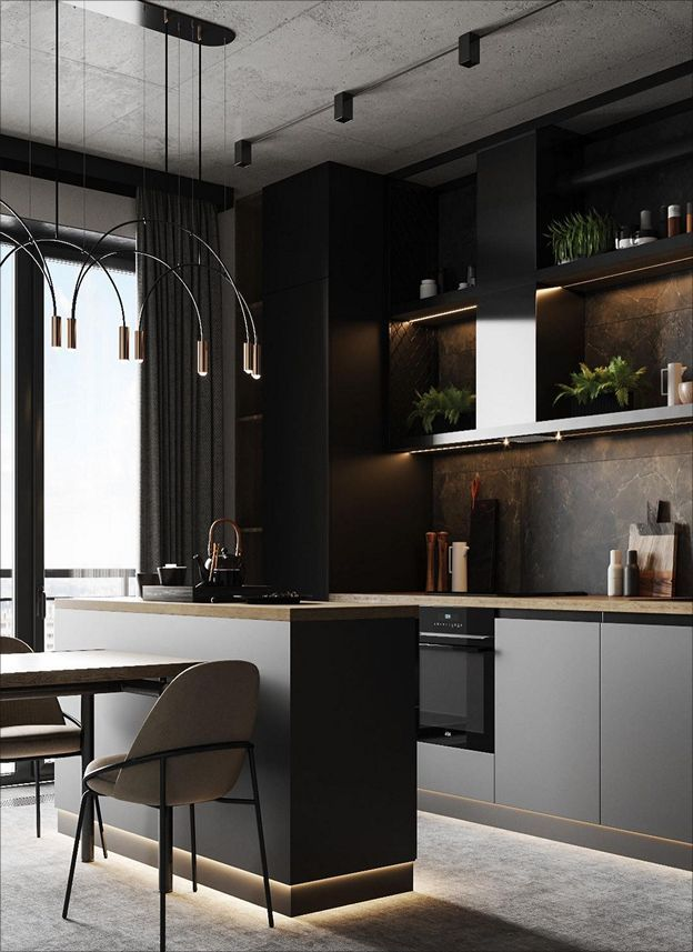 Trendy Kitchen Industrial Interior Design 20 Ideas In 2021 Industrial Interior Design Trendy Kitchen Industrial Interior