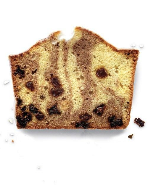 Cinnamon-Raisin Pound Cake with Basic Glaze Recipe