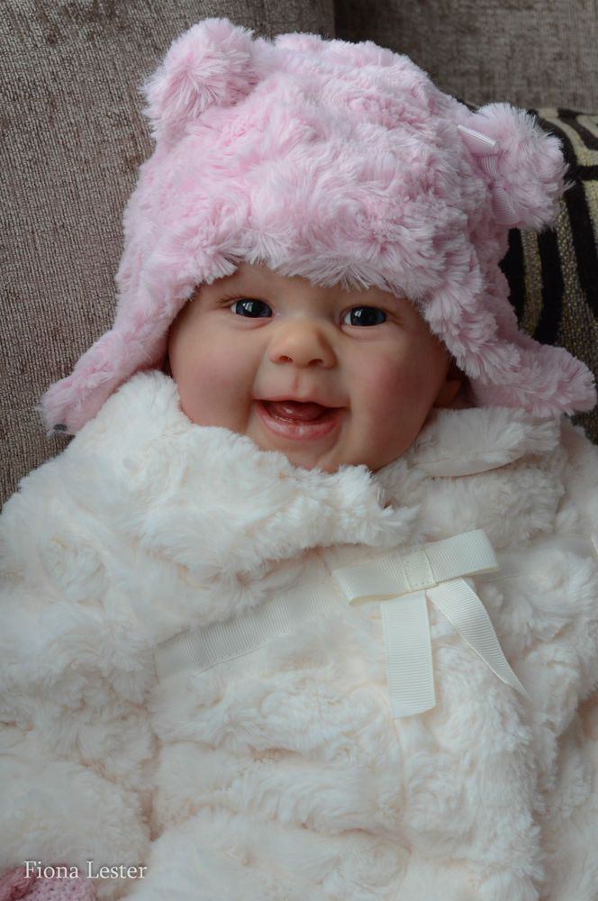 FIONA LESTER Reborn Baby GIRL Doll MAIZIE ANDREA ARCELLO Maisie LIMITED EDITION in Dolls & Bears, Dolls, Clothing & Accessories, Artist & Handmade Dolls | eBay
