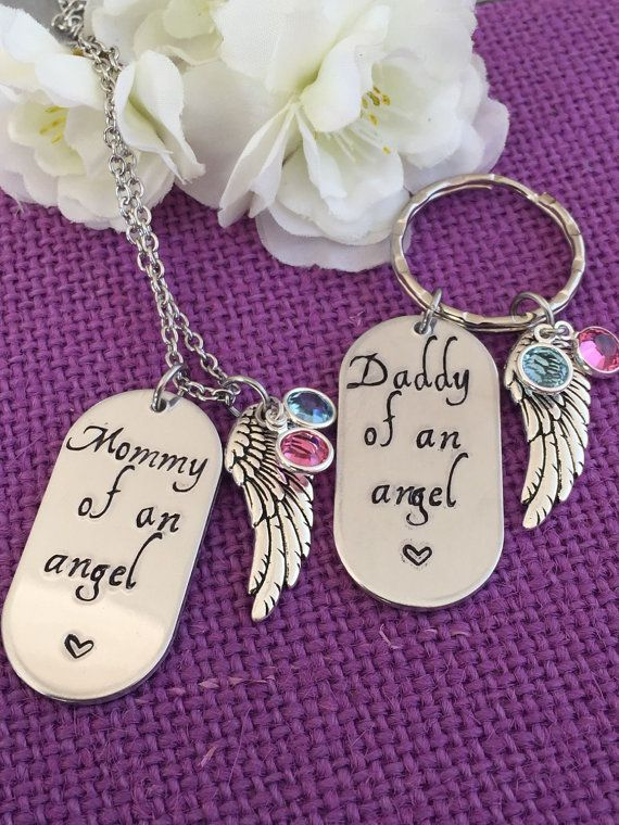 Miscarriage Jewelry Memorial Jewelry Child loss by DesignsByTeraW