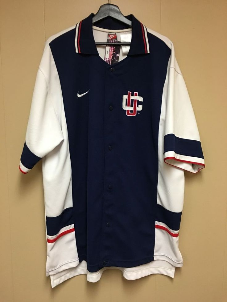 Nike Team Sports Uconn Basketball Warm Up Shirt   | eBay