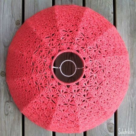 Home-Dzine - How to crochet a lampshade (I really want to try this)