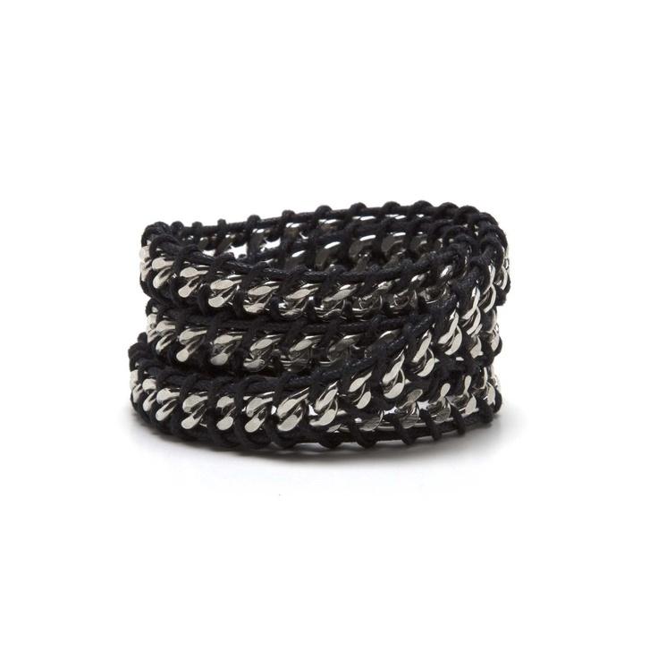 Chain Link Wrap Bracelet