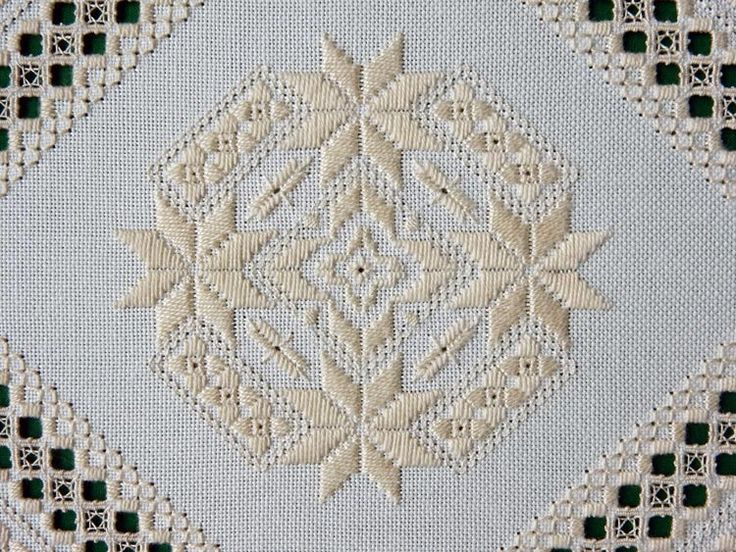 See the pretty Once Upon a Star in Hardanger at Nordic Needle