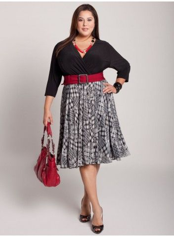 dress that looks like separates - plus size: Curvy Girl, Outfits, Idea, Style, For, Clothes, Big Girl, Plus Size Dresses, Size Fashion