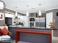 #contemporary #kitchen with citrus colour palette  To view more of this property check out www.RegalGateway.com