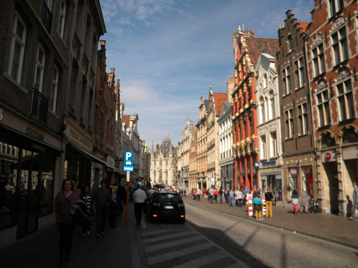 Sunny Brugge streets