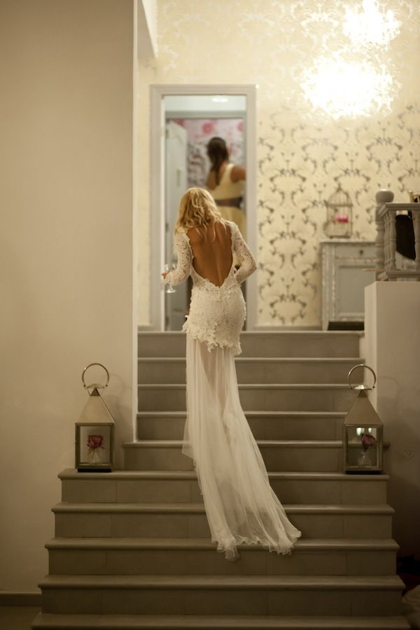 I am SPEECHLESS about this gown. This bride was absolutely stunning