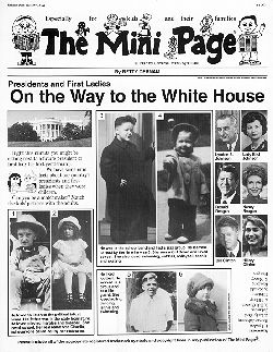 I remember these!!the mini page newspaper for kids
