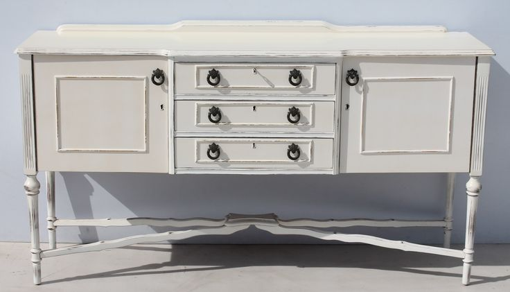 Vintage White Regency French Style Gateleg Sideboard Condition:  Used  Vintage White Regency French Style Gateleg Sideboard  size: 1680 L x 450 W x 900 H  R5999  Cell 076 706 4700  Tel 021 - 558 7546  Cell 076 706 4700  www.furnicape.co.za  0507