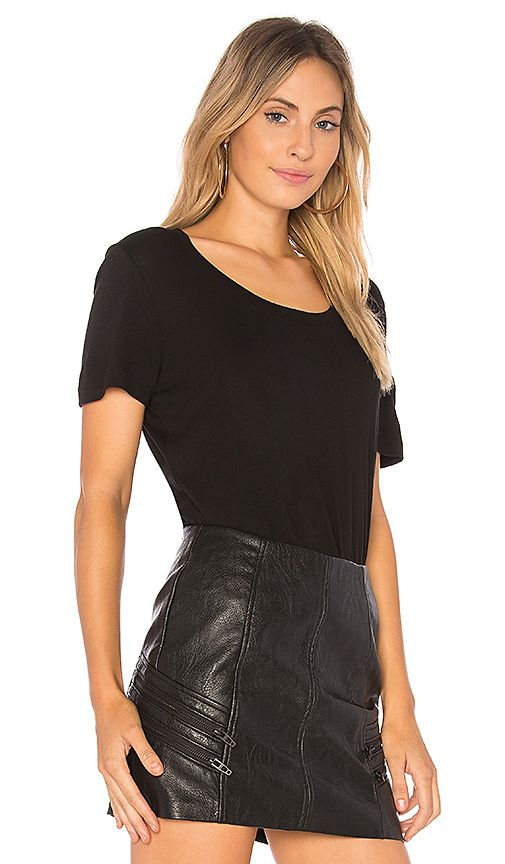 Shop for MONROW Love Tee in Black at REVOLVE. Free 2-3 day shipping and returns, 30 day price match guarantee.