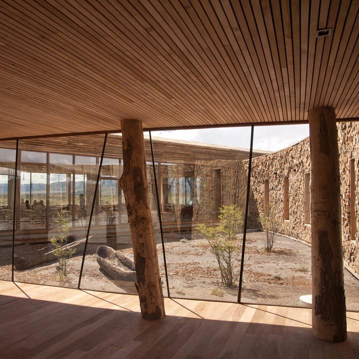 #architecture : Tierra Patagonia Hotel by Cazú Zegers Arquitectura in Torres del Paine, Chile
