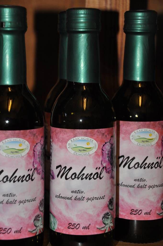 Kraichgauer Ölmühle Mohnöl 250 ml