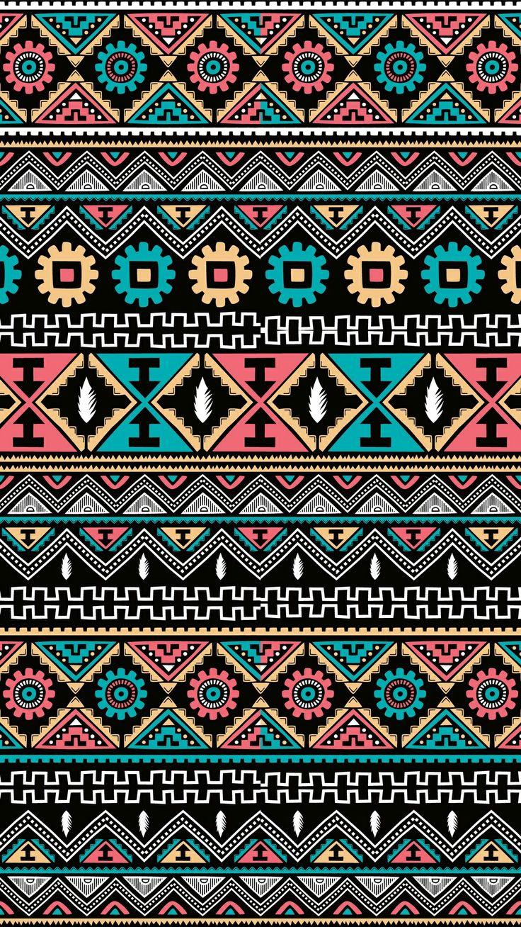 Best 25+ Aztec Wallpaper Ideas On Pinterest