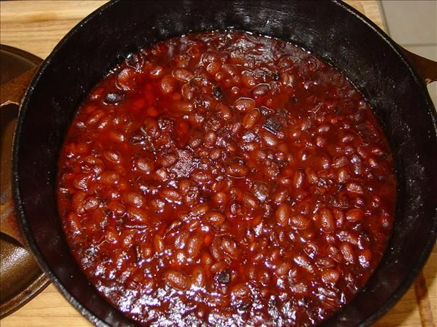 Boston Baked Beans in Bean Pot  								These, of course, are the ultimate Boston Baked Beans! Please take into account they need to soak overnight. You will need a 2 1/2-quart bean pot or covered casserole. Recipe By: Durgin-Park Restaurant, Boston, MA