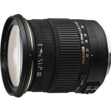 Sigma 17-50mm f/2.8 EX DC OS HSM FLD Large Aperture Standard Zoom Lens for Canon Digital DSLR Camera - $400