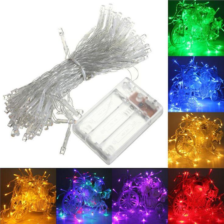 Купить товар4 М 40 СВЕТОДИОДОВ На Батарейках Света Шнура СИД на Рождество Гирлянды Партии Свадебные Украшения Рождественские Flasher Сказочных Огней На продажа в категории Светодиодные кабелина AliExpress.  1.5mx1.5m 96 LED Net Mesh Fairy String Light Christmas Wedding Party Fairy String Light with 8 Function Controller EU/U