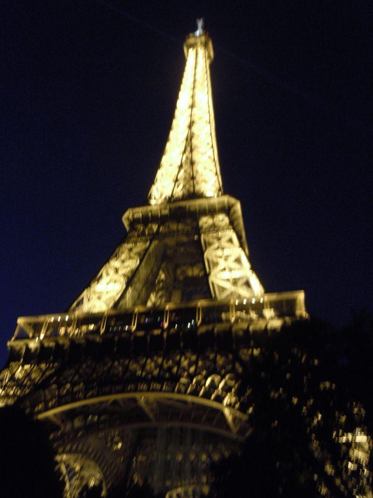Paris at night (^^,) (Photo by Lexi McKenzie)