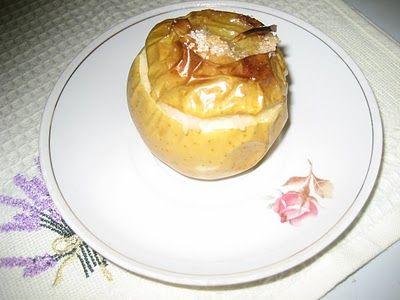 Горшочек, вари!: запеченные в духовке яблоки с рисом и изюмом