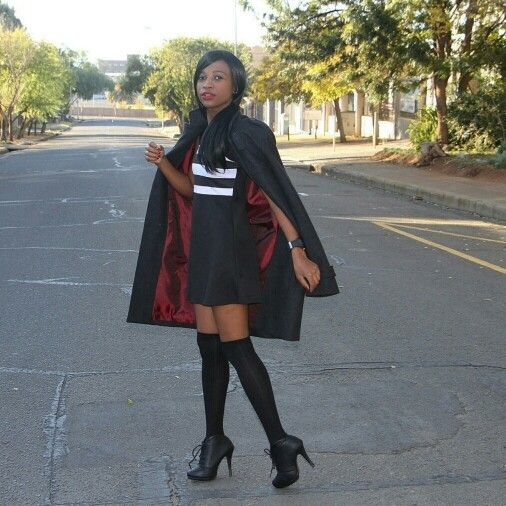 Modern Schoolgirl Winter Look for Youth Day - June 16th.