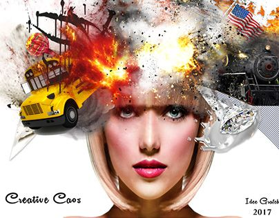 """Check out new work on my @Behance portfolio: """"Creative Caos"""" http://be.net/gallery/48156961/Creative-Caos"""