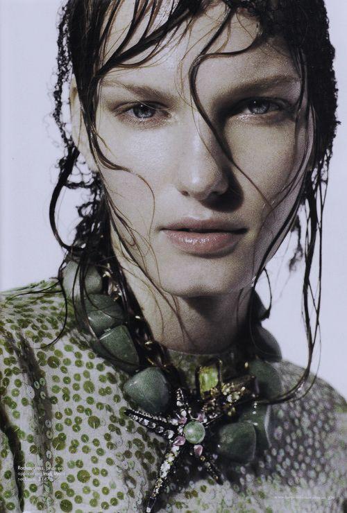 "Marique Schimmel in ""Age of Aquarius"" by Benny Horne for Harper's Bazaar Australia March 2012"
