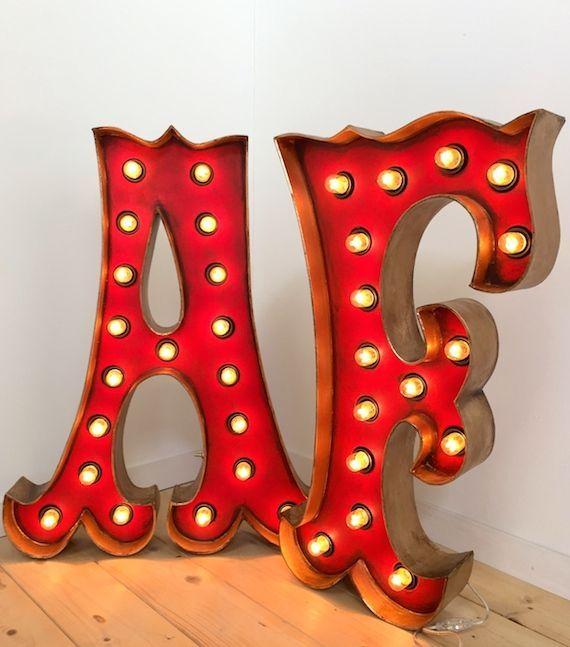 Hoy toca hablar sobre letras decorativas luminosas un - Letras luminosas decoracion ...