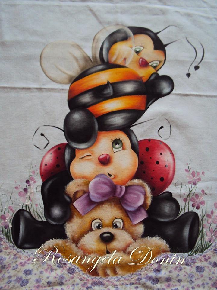 ursa, joana e abelha
