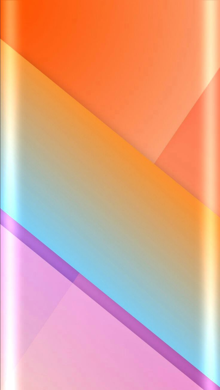 Pastel Abstract Geometric Wallpaper
