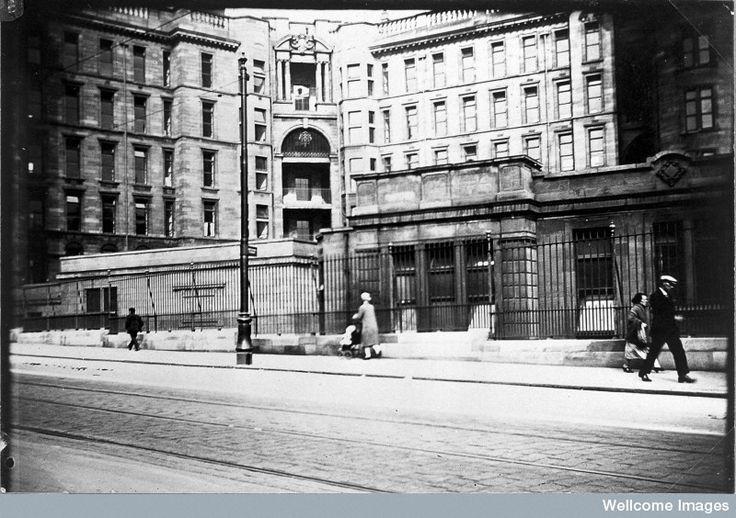 Glasgow Royal Infirmary, 1928