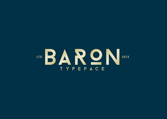 Designer Resource: BARON (Free typefamily)