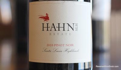 Hahn Estates Santa Lucia Highlands Pinot Noir 2010 - Silky, Spicy, Smoky and Delicious http://www.reversewinesnob.com/2012/12/hahn-estates-santa-lucia-highlands-pinot-noir.html