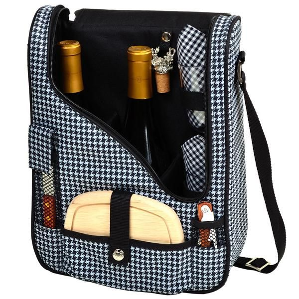 Houndstooth Pinot Wine and Cheese Cooler for 2