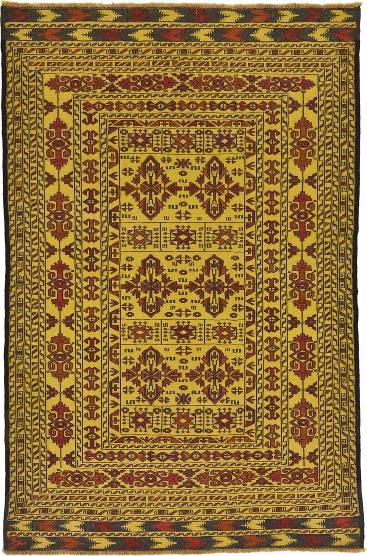 Gold 4 X 6 3 Kilim Afghan Rug Area Rugs Irugs Uk