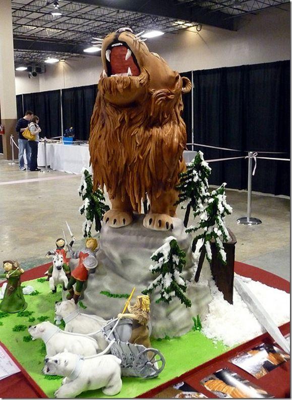 Chronicles of Narnia Cake...so amazing!