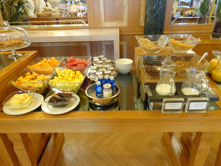 Breakfast @ Ivory Palace @ The Westin Palace, Milan