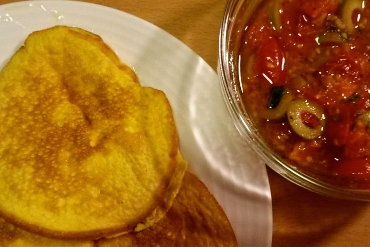 omlety dyniowe