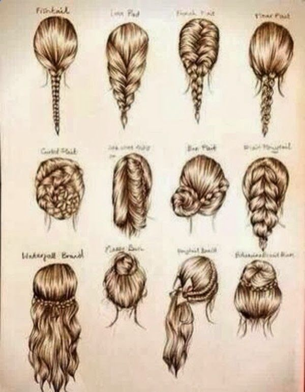 Interesting and Easy Hair Styles