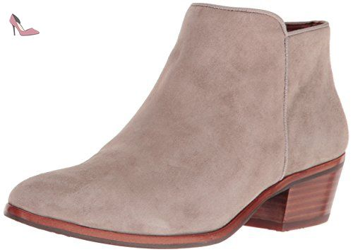Sam Edelman , Bottines Femme - Multicolore - Multicolore (Oatmeal Kid Suede), 38 EU
