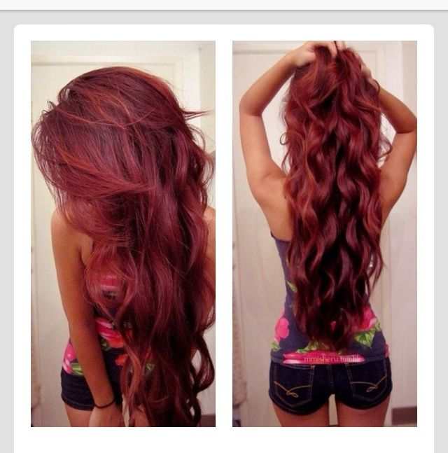 Hair, hair color, hair style, colors, red, long hair, curly hair, snooki