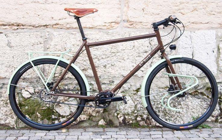 47° Nord-Fahrradmanufaktur für handgebaute Massrahmen made in Biel/Bienne Schweiz: Tourenvelo Sleipnir Pinion