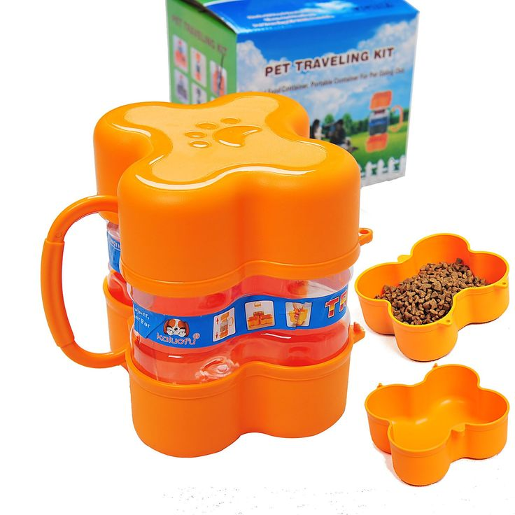 Pet Traveling Food Storage Bucket
