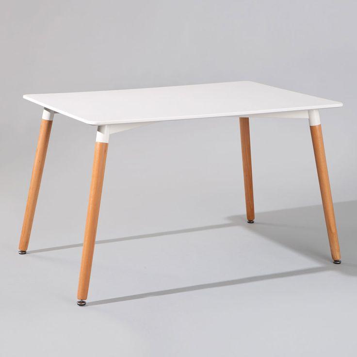 Retro Tisch In Weiss Buche Jetzt Bestellen Unter Moebelladendirektde Kueche Und Esszimmer Tische Esstische Uid80f4cf9a 6fd4 56c4 9294